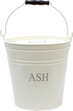 Ash bucket with lid for moving ash from your fireplace easier. The bucket comes…