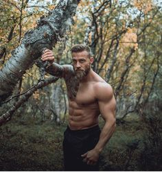 New fitness hombres muscle hot guys ideas Hairy Men, Bearded Men, Viking Men, Male Physique, Hair And Beard Styles, Attractive Men, Muscle Men, Male Beauty, Male Body