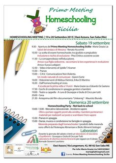 Meeting Homeschooling Sicilia