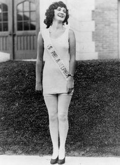Ruth Malcomson of Philadelphia became  Miss America for 1924.