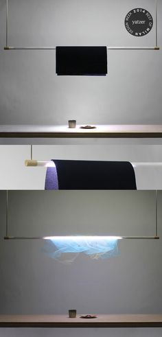 Shade-lit light by Kohdai Iwamoto, part of the Design Soil project of the Kobe Design University's participation at Ventura Lambrate. This e...