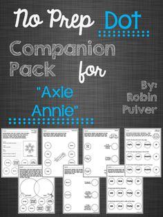 "Companion pack for ""Axle Annie"" targeting 8 different skills!"