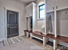 mudroom {veranda interiors: Final Images: Watermark Spyglass}