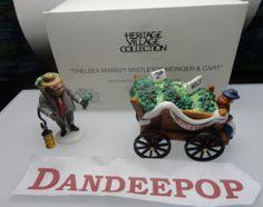 Dept. 56 Department 56 Heritage Village Chelsea Market Mistletoe Monger Retired find me at www.dandeepop.com #dandeepop