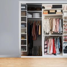 Need closet decoration ideas to beautify in your room? Check out these pictures of creative bathroom storage solutions from GoDear Design. Walk In Closet Design, Wardrobe Design, Closet Designs, No Closet Solutions, Bathroom Storage Solutions, Sliding Panels, Sliding Doors, Modular Closet Systems, Closet Decoration