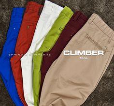 CLIMBER B.C. Rengarenk pantolon modelleri