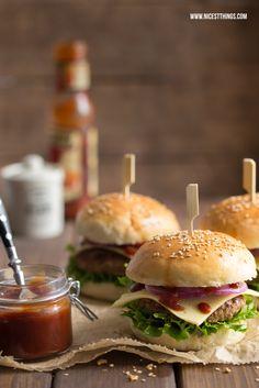 * Nicest Things - Food, Interior, DIY: Das beste Burger-Rezept mit selbstgemachten Brötchen (Thermomix)