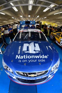 At-track photos: Saturday, Charlotte:   Saturday, May 28, 2016  -   CHARLOTTE, NC - MAY 28: The No. 88 Nationwide Chevrolet sits in the garage area during practice for the NASCAR Sprint Cup Series Coca-Cola 600 at Charlotte Motor Speedway on May 28, 2016 in Charlotte, North Carolina.