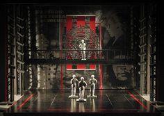 Evita Scene Design: Don't Cry for Me