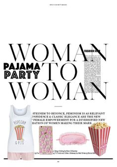 """A pajama party woman ➡ woman."" by erindembo on Polyvore featuring New Look and P.J. Salvage"