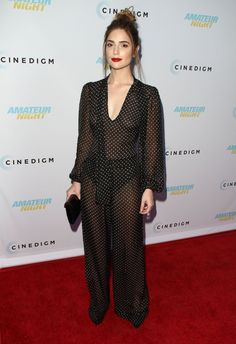 Janet Montgomery See Thru Dress
