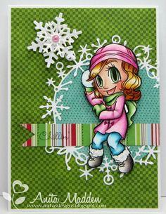 Some Odd Girl card