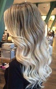 Blended Beige Blonde Balayage