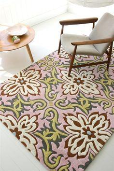 Amy Butler rug.