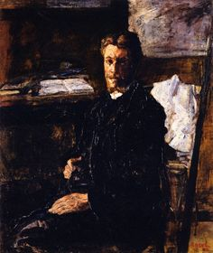 The Athenaeum - Portrait of Willy Finch (James Ensor - )