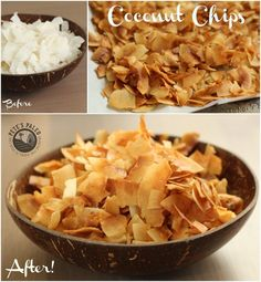 Happy Friday! This week I have a super simple recipe for you. Some of you may have tried the Dang coconut chips, they were my inspiration behind this recipe. Th