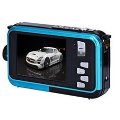 UBuyit Double Screen Waterproof Home or Outdoor Use Nightspot Function Camera Digital Zoom Dive Camera(Blue). Usage:Home or Outdoor Use. Nightspot Function:Yes. Best Digital Camera, Waterproof Camera, Led Flashlight, Hd 1080p, Nintendo Consoles, Diving, Consumer Electronics
