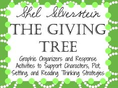 The Giving Tree by Shel Silverstein: Characters, Setting, Plot