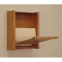 Wooden Mallet™ C-Fold/Multi-Fold Paper Towel Dispenser