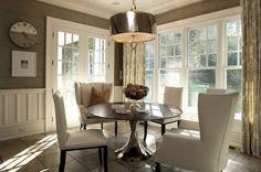gray dining room | Decor Inspiration: Grey Dining Room | HIPLIP