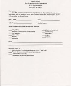 A Customer Service Quiz for child care providers   DAYCARE ...