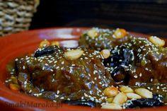 Wołowina ze śliwkami po marokańsku
