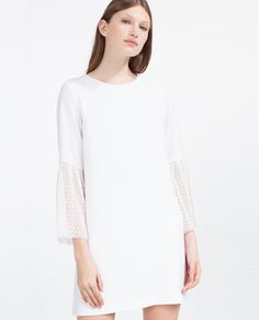 Image 2 of PLEATED DRESS from Zara
