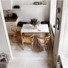 how to style a small dining space new threads pinterest small