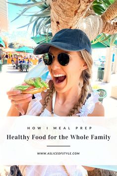Top Utah blog, A Slice of Style, shares with you how she meal preps healthy foods for the whole family, the food storage containers she uses and loves, favorite snacks she always has on hand, and why preparing food and eating clean is so important. #asliceofstyle #healthyfood #familyfood #mealprep Super Healthy Recipes, Healthy Meal Prep, Healthy Foods, Clean Simple Eats, Grass Fed Beef, Delicious Dinner Recipes, Food Storage Containers, My Favorite Food, Family Meals