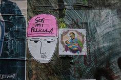 Guille Pachelo & Kaeru  #Camden #London #Londres #Stickers Collage Art, Street Art, Tumblr, Facebook, Wallpaper, Illustration, Pretty, Instagram, Design