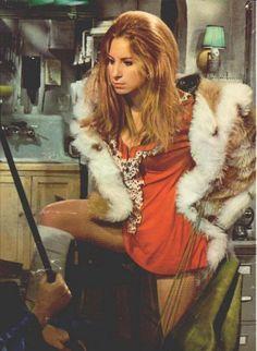 "Barbra Streisand in ""The Owl & The Pussycat"" 1970."