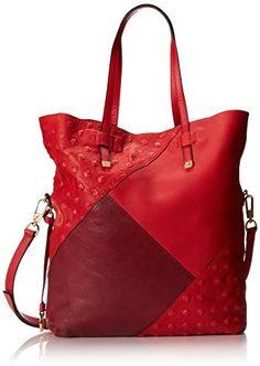 4d65831e8021 Halston Foldover NS Patchwork Shoulder Bag on shopstyle.com Halston Heritage