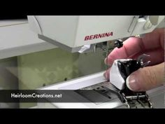 Attaching and Using the Bernina Walking Foot