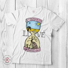 d7abff86 Life quote tee inspirational shirt Organic t-shirt vegan Fast Fashion, Organic  Cotton,