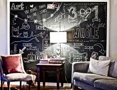DIY ART   faça você mesmo a arte da sua casa, desenhando em paredes de tinta…
