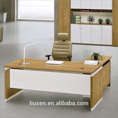Factory direct sale office furniture executive melamine manager office table design