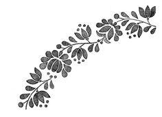 kalocsai Chain Stitch Embroidery, Gold Embroidery, Embroidery Stitches, Embroidery Patterns, Embroidery Tattoo, Craft Patterns, Fabric Patterns, Stitch Head, Braided Line