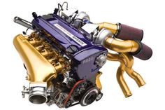 Engine Skyline R-34 GT-R. This is straight up porn. Pure XXX. NSFW.