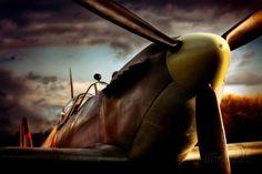 Jachtvliegtuig Spitfire Fotoprint van David Bracher - bij AllPosters.be