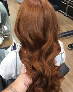 Hair, dyed hair, ginger hair dyed, auburn red hair, chesnut hair co Ginger Hair Dyed, Ginger Hair Color, Hair Color Caramel, Dyed Hair, Long Thin Hair, Long Curly Hair, Curly Hair Styles, Hair Color Auburn, Brown Hair Colors