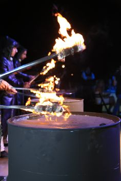 wedding entertainment | fire drummers as entertainment for wedding www.586eventgroup.com