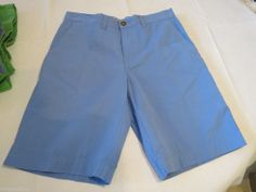 Men's Tommy Hilfiger 7845133 Fisherman Blue 496 shorts casual 34 W Classic NEW