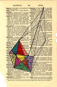 Illogical Prism Print of Original Drawing by Jaime Derringer @Design Milk