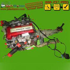 JDM Nissan SR20DET TURBO S13 240SX Redtop Engine & Manual Transmission 90-95