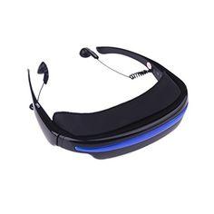 "Andoer® 4GB 52"" 4: 3 Virtual Pantalla Ancha Gafas de Vídeo Eyewear - https://realidadvirtual360vr.com/producto/andoer-4gb-52-4-3-virtual-pantalla-ancha-gafas-de-vdeo-eyewear-teatro-privado-mvil-digital-con-ranura-para-tarjeta/ #RealidadVirtual #VirtualReaity #VR #360 #RealidadVirtualInmersiva"
