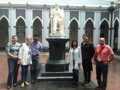 @saberucv en el Hospital Vargas e Instituto de Biomedecina #UCV (en Caracas)
