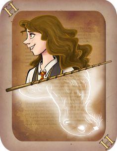 Hermione Granger, Harry Potter Card Deck   Imaginative Ink