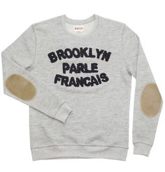 BWGH Brooklyn Parle Francais Sweater