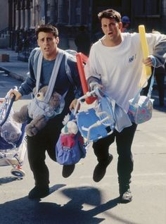 Joey Tribbiani and Chandler Bing | Friends