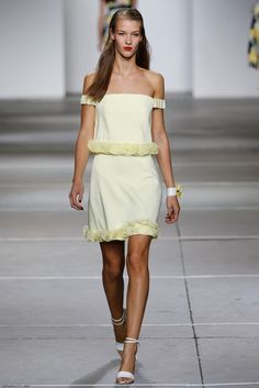 Topshop Unique spring/summer 2015 collection - London fashion week